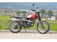 JQモーターサイクル スクランブラ125