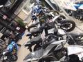 通勤通学に使える新車125ccなども豊富に取り揃えております! 大阪店に劣らない珍しい在庫もあります!