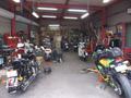 認証工場完備!お客様のバイクをしっかり丁寧にスピーディーに整備いたします。