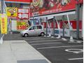 四輪駐車場完備!お隣車検のコバック様駐車場もしくは、当店向かいの当店駐車場に駐車ください!