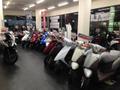 国内3メーカーの50cc~125ccクラスを中心に50台の展示♪
