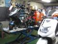 125ccを中心にカスタムをしています!