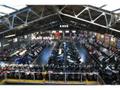 2階はスクーター・原付フロアになっております。ビッグスクーター、原付合わせて200台展示中!