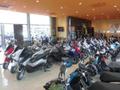 新車スクーター館!新車の50~125ccのオートバイを綺麗な建物の中での車両を常時展示中!!