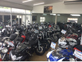 大型バイクを室内に展示!