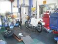 ホンダサービスエンジニア1級のメカニックがあなたのバイクライフをお手伝いします。